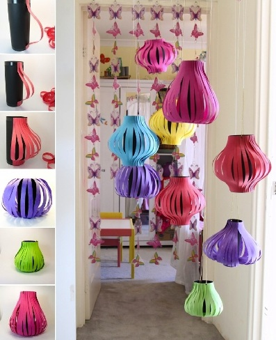 New Year Lanterns Craft Ideas: