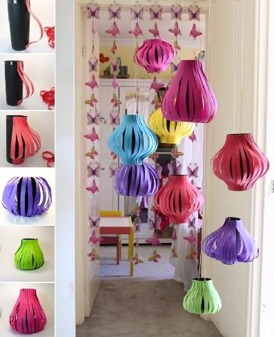 New Year Lanterns Craft Ideas: