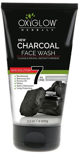 Oxyglow Charcoal Face Wash
