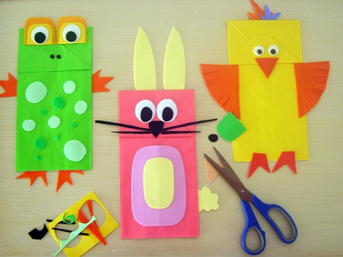 Paper Bag Puppet Crafts