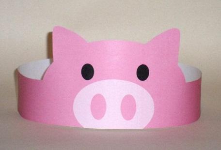 Pig Art Crafts For Preschool