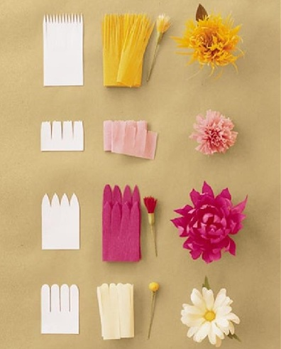 Paper Flowers Craft Ideas