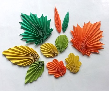 Paper Leaf Craft