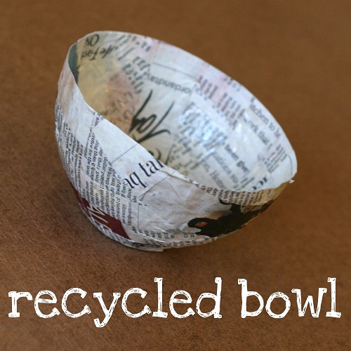 how to make string from recycled paper