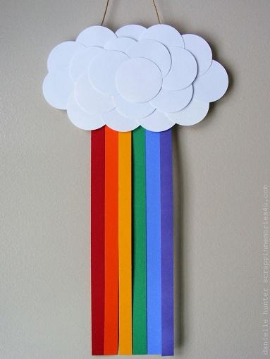 Paper Rainbow Fun Craft