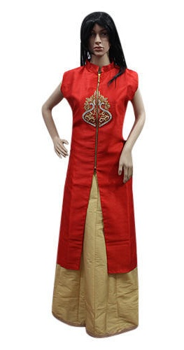 Party Wear Kurta With Skirt