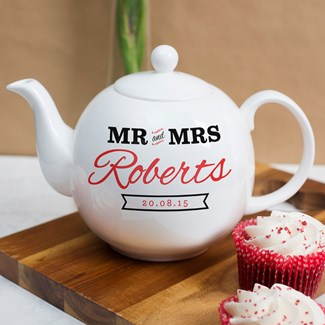 Personalized Tea Pot