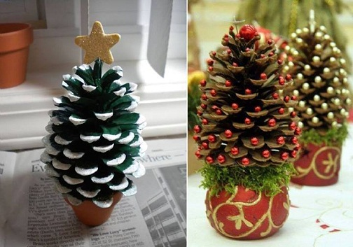 Pine Cone Holiday Craft