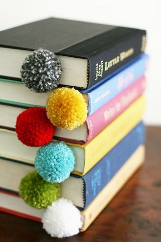 Pompom Bookmark Fun Craft