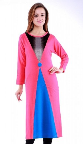 Poppy Winter Kurti