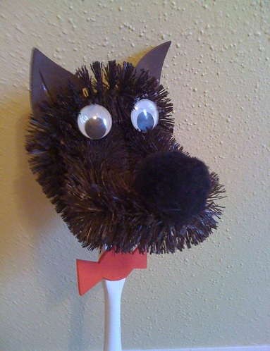 Puppet Wolf Crafts