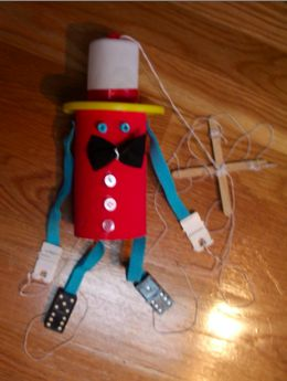 Puppet Recycle Craft