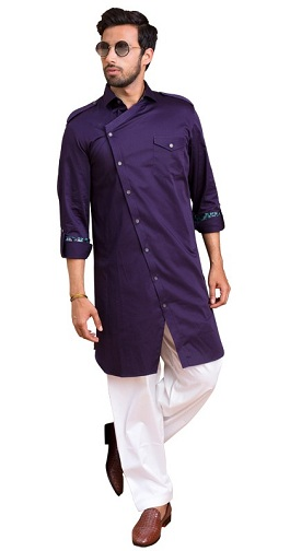Purple Pathani