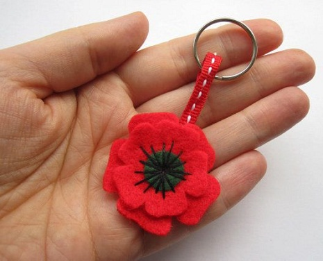Remembrance Day Key Chain