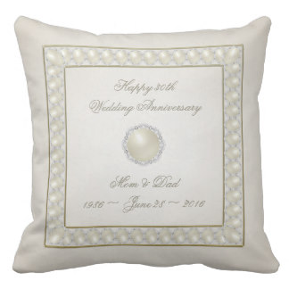 Satin Pearl Pillow