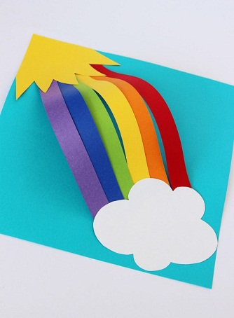 9 Easy Rainbow Crafts For Kids And Toddlers Styles At Life
