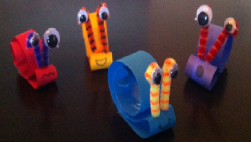 Snail Paper Craft