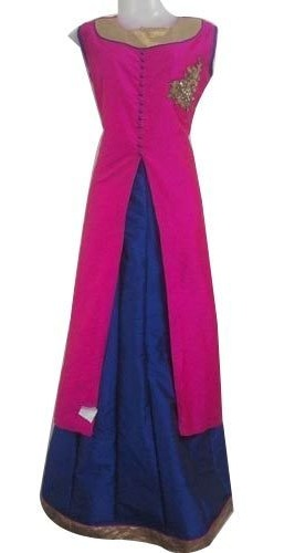 Stylish Kurta with Long Skirt