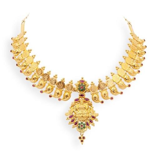 Temple Design Necklace