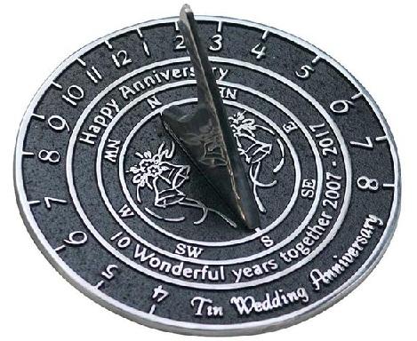 Tin Sundial