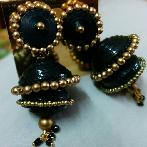 Twin Layered Jhumkas