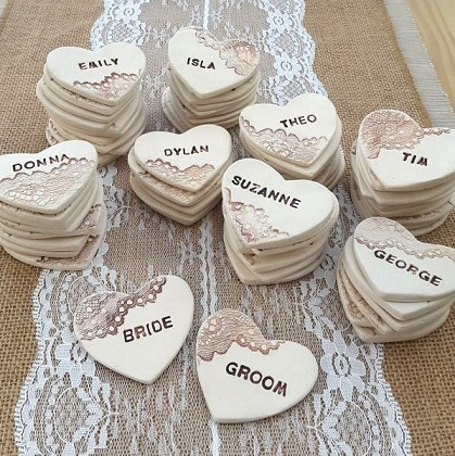 Wedding Favors Plaster of Paris Crafts