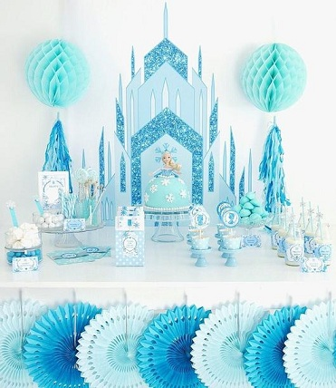 Party Decors Frozen Crafts