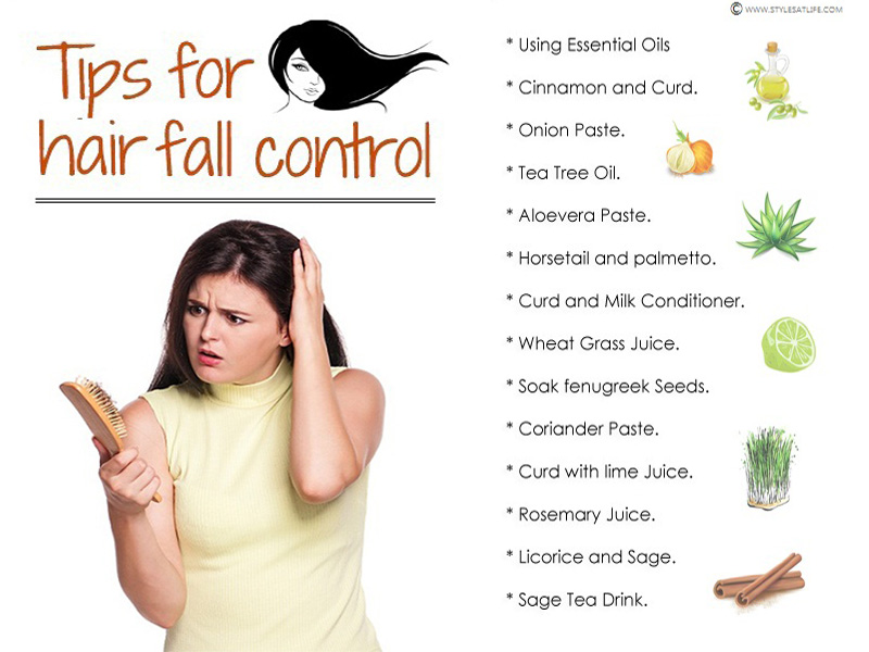 hair fall control tips