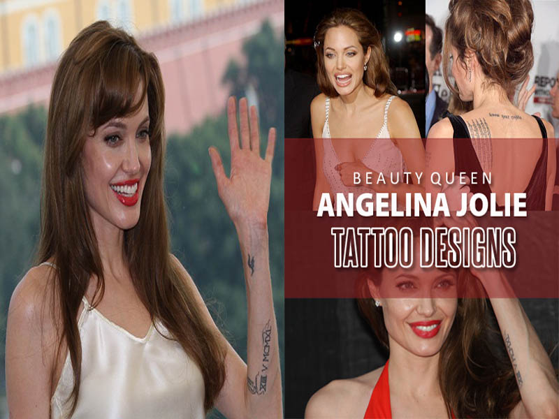 best angelina jolie tattoo designs