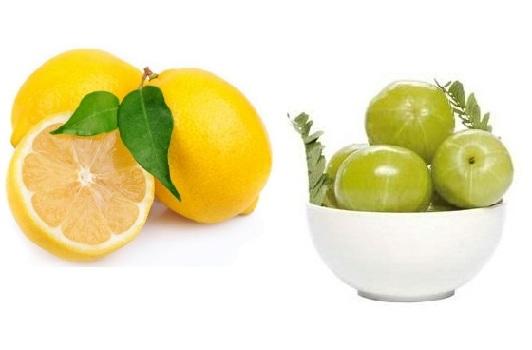 amla and lemon for dandruff
