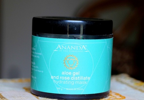 Ananda Aloe Gel & Rose Distillate Hydrating Mask