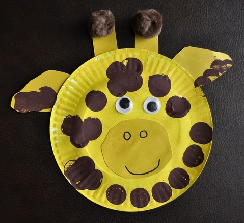Animal Plate Crafts for Kids