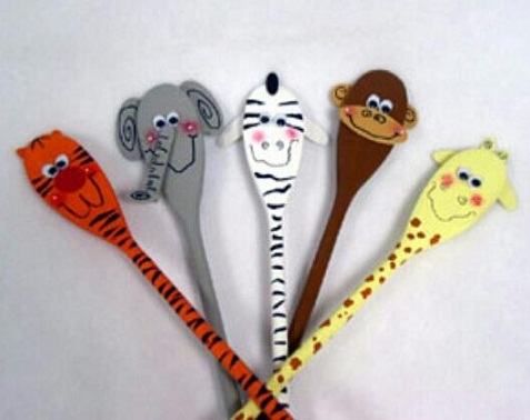 Animal Wooden Spoon