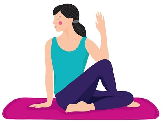yoga asanas for Sugar