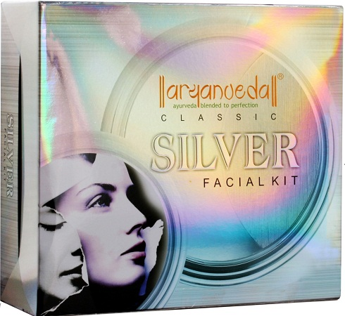 Aryanveda Silver Facial Kit