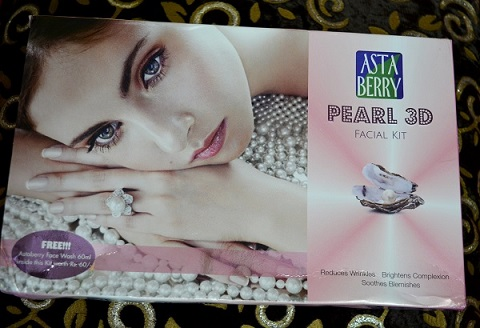 Asta Berry Pearl Facial Kit