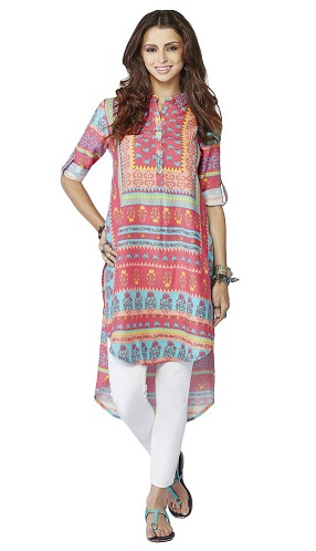 Asymmetrical Kurti with Hemline
