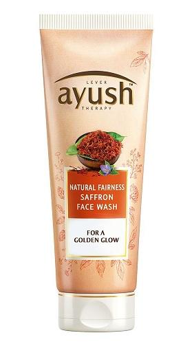 Ayush Natural Fairness Saffron Face Wash