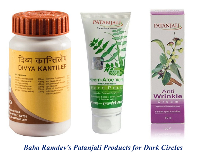 Baba Ramdev's Patanjali Products for Dark Circles | Styles At Life