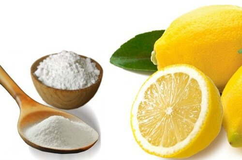 baking soad and lemon to cure dandruff