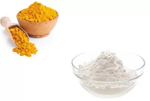 Baking Soda and Turmeric Golden Mix