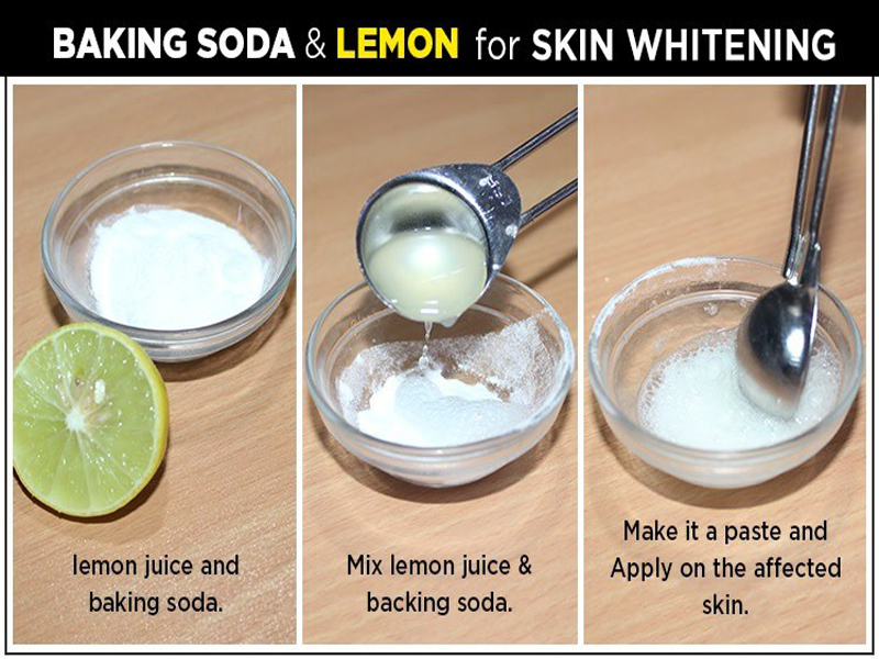 Benefits of Baking Soda Face pack