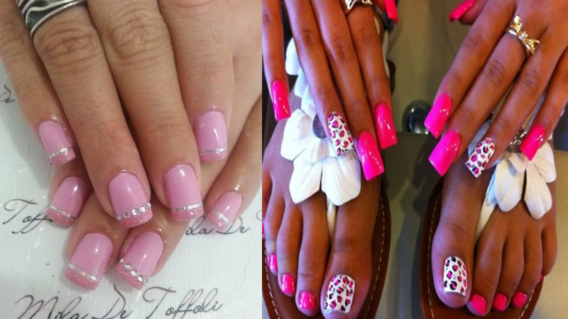 Best Pink Nail Art Designs