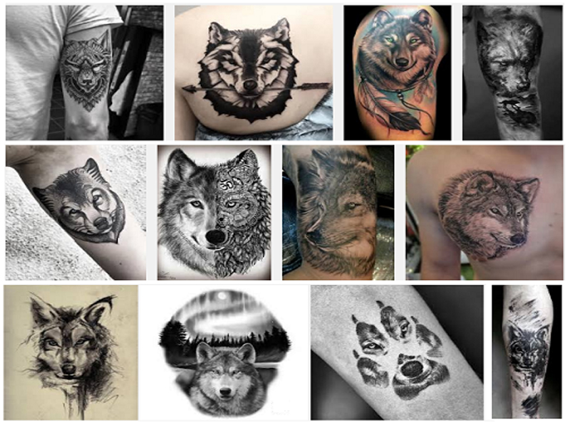 1a86a4bbf 20 Best Wolf Tattoo Designs With Meanings | Styles At Life