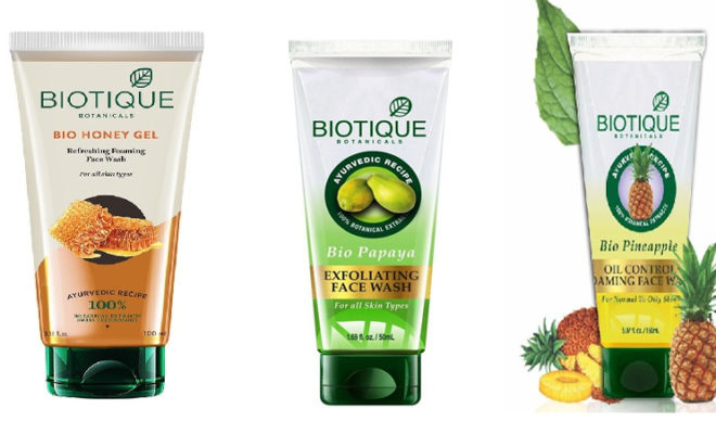 Biotique Face Wash Products