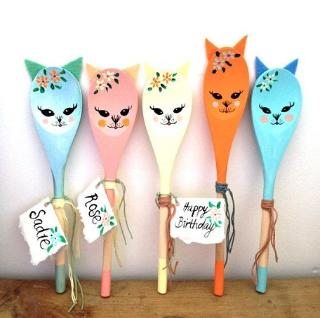 Birthday Spoon Craft