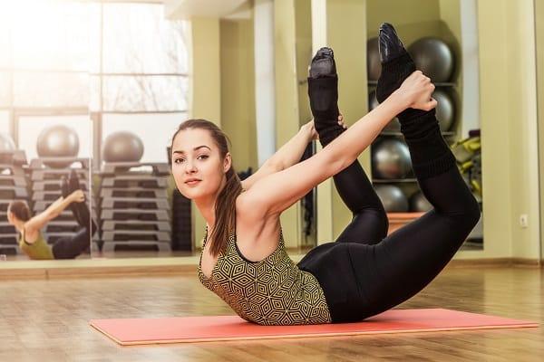 Bow Pose Satyananda Yoga