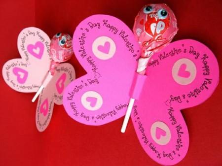 Butterfly Valentine Craft