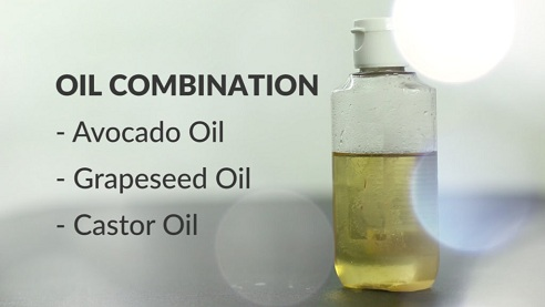 Castor Oil with Avocado Oil & Grape Seed Oil