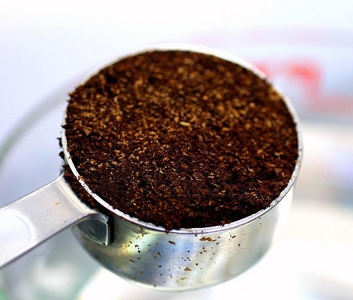 Chilled Coffee Grounds